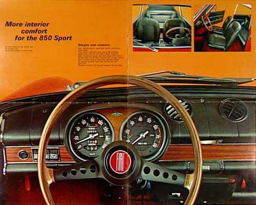 Car S Garage 850 Sports Coupe Interior