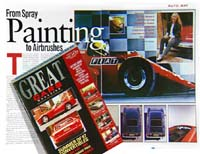 Great Cars article - December 1996. CLICK HERE for larger version